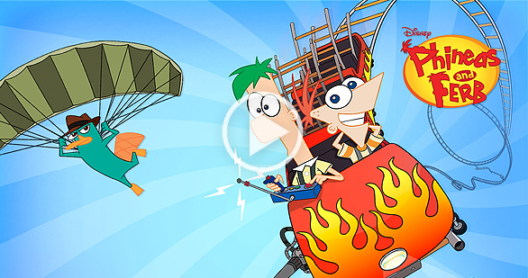 104 Days of Summer | Phineas and Ferb | Disney